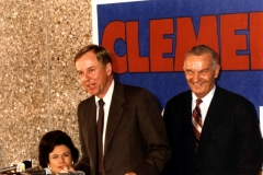 TBP with Clements 1980s gov campaign