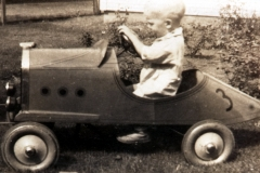 "TBP drives ""first car"""