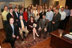 Pickens Staff w vp candidate Sarah Palin
