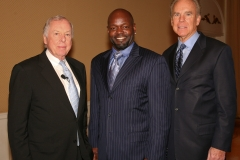 TBP with Emmitt Smith, Roger Staubach 2010