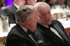 TBP & Jerry Jones talking NFF Hall of Fame Dinner 2012