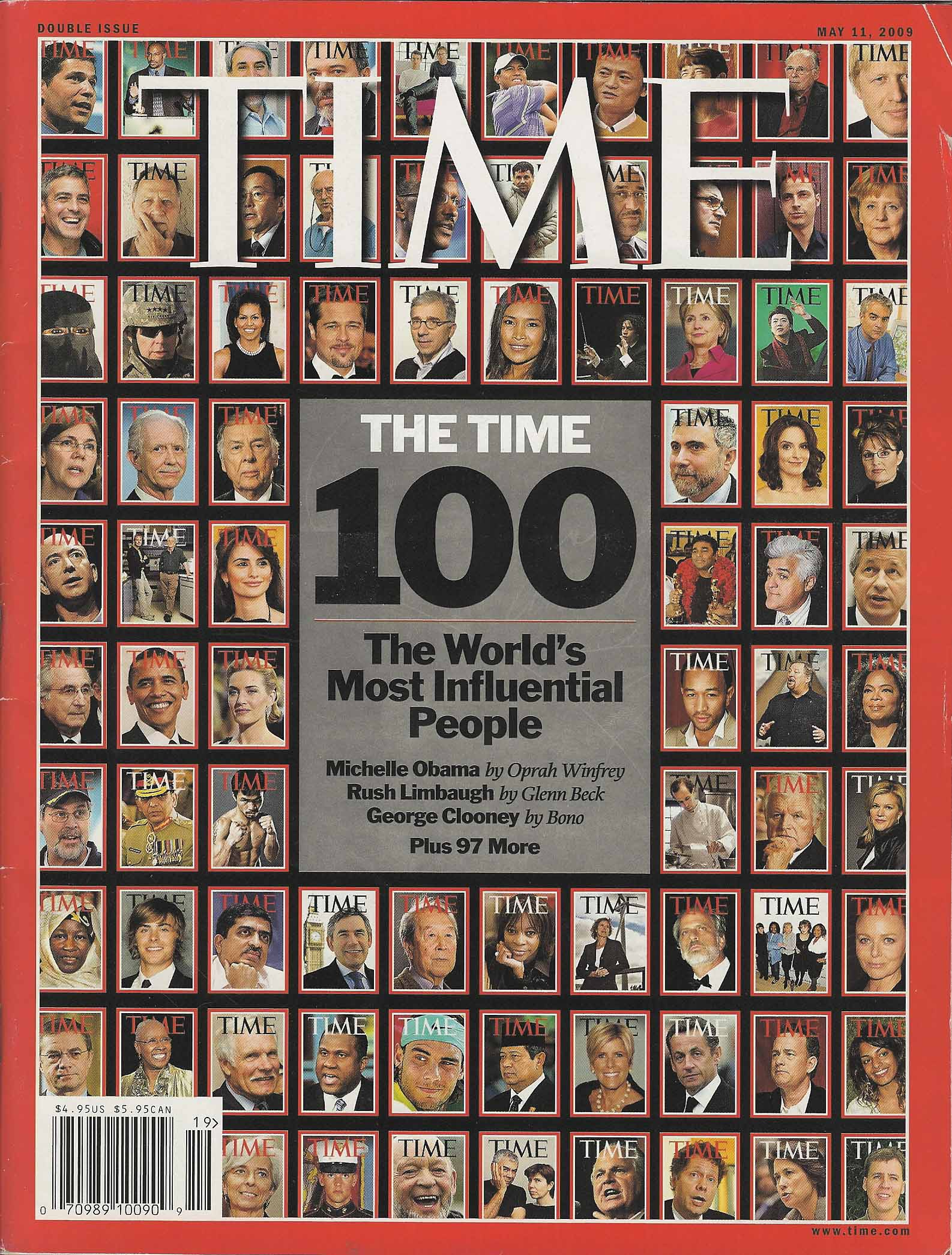 Time May 2009-Cover